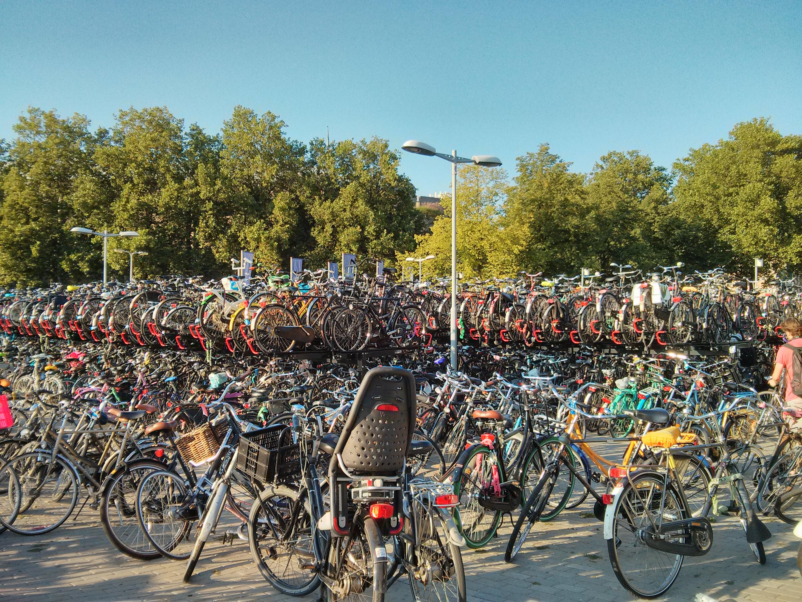 Utrecht, bisiklet park yeri